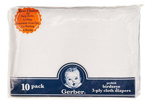Gerber Birdseye Cloth Diapers